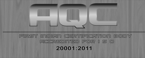 AQC india's first iso certification provider